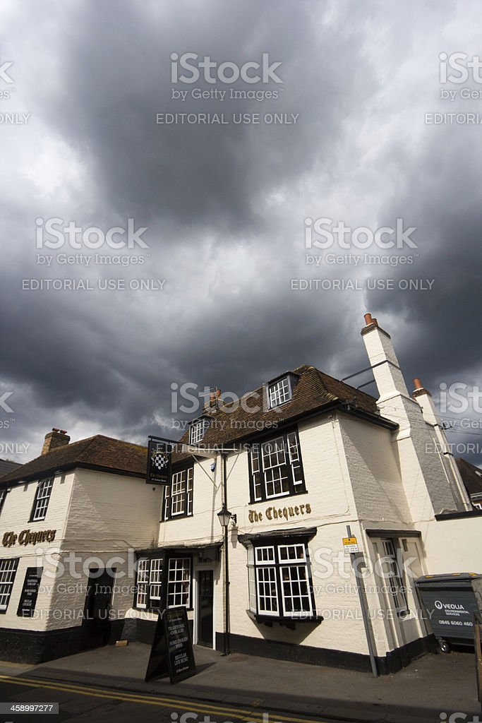 The Chequers in Sevenoaks, Kent stock photo