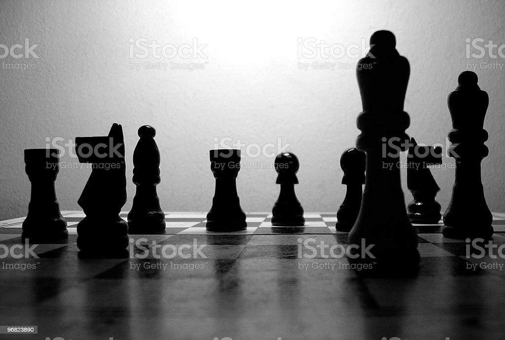 the chess royalty-free stock photo