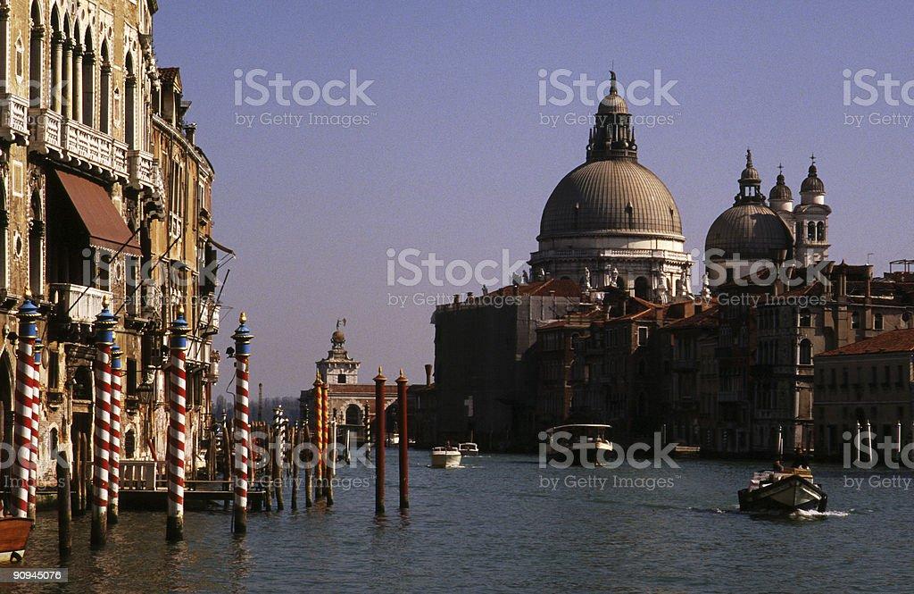 The Chiesa di Santa Maria della Salute, Venice royalty-free stock photo
