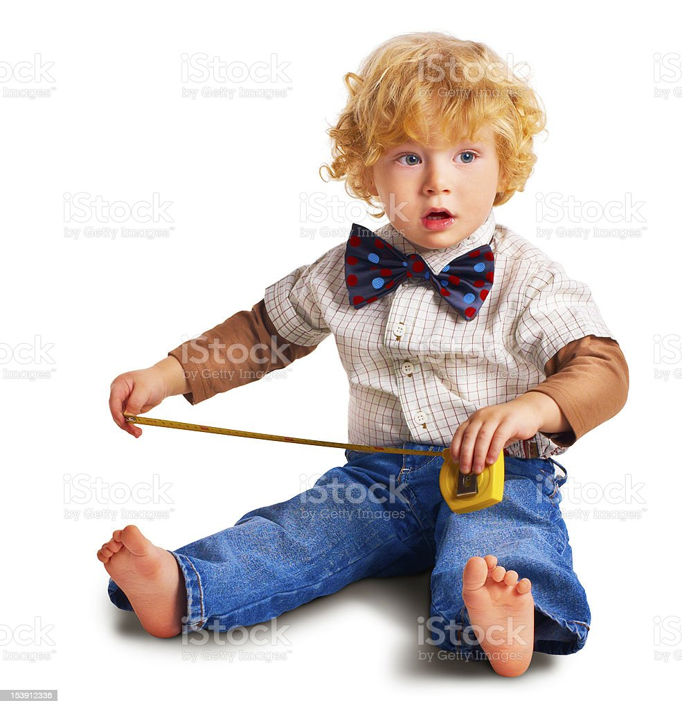 The child with a roulette stock photo