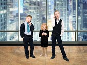 The children of businessmen