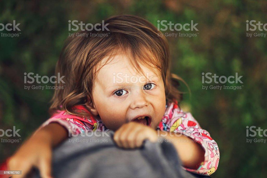 The children portrait. stock photo