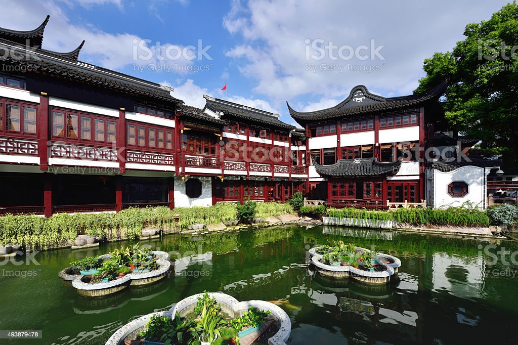 The Chinese Garden stock photo