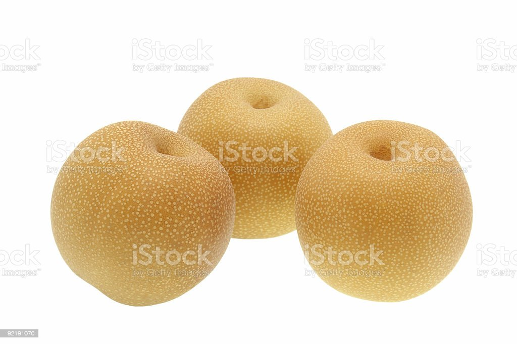 The Chinese pears royalty-free stock photo