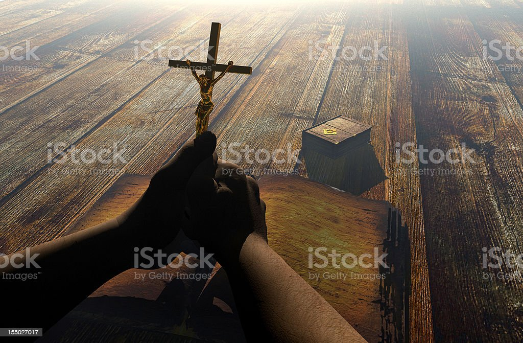 the Christ royalty-free stock photo