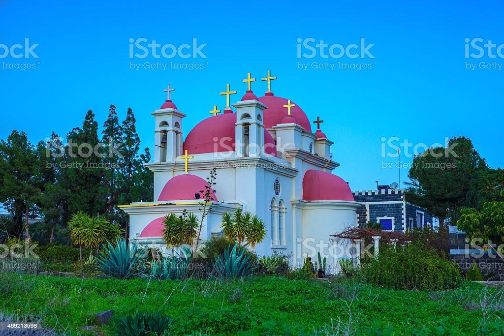 The church building stock photo