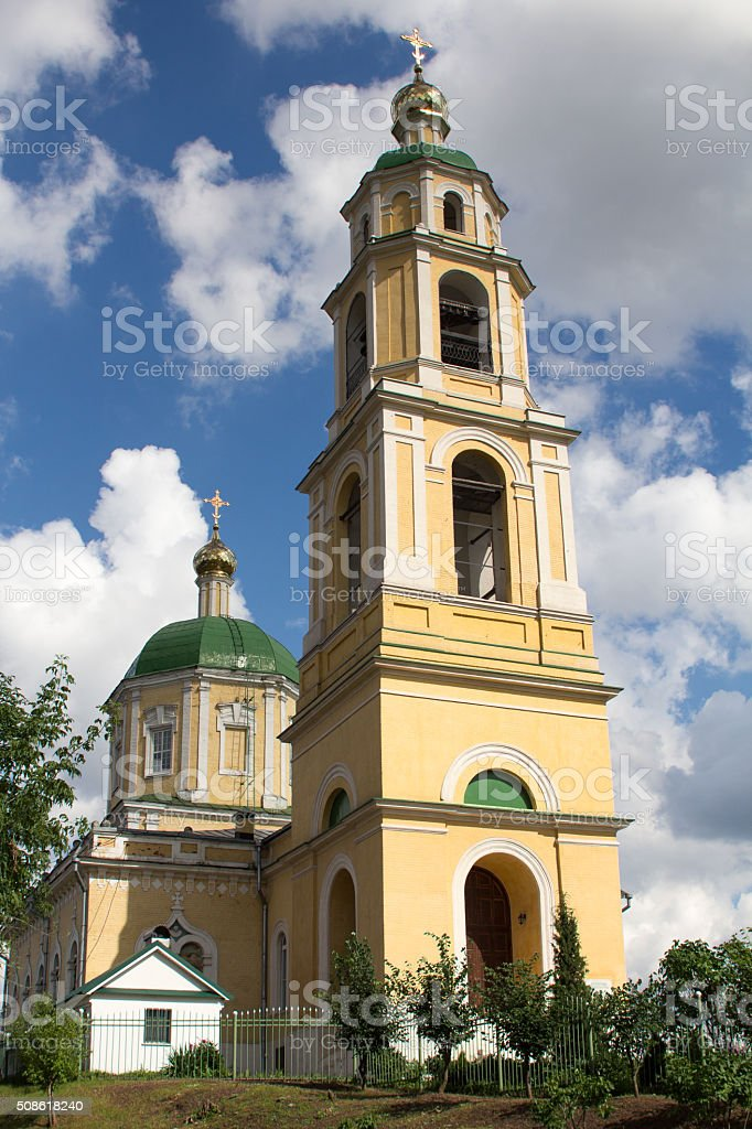 the Church Nikolskaya stock photo