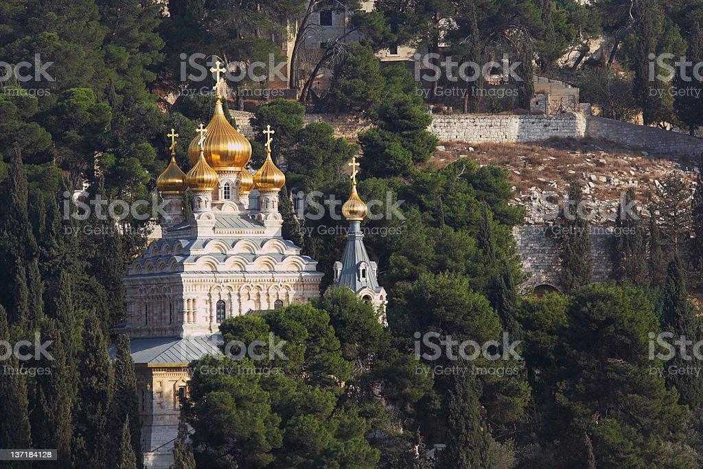 The Church of Mary Magdalene royalty-free stock photo