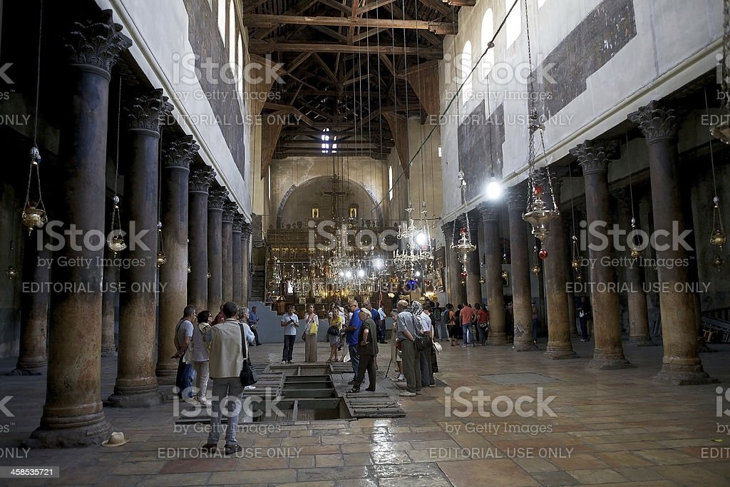 The church of Nativity royalty-free stock photo