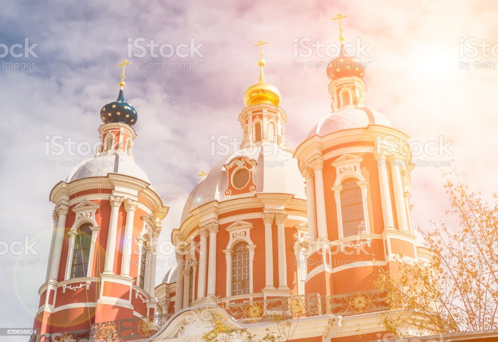 The church of Saint Clement of Rome stock photo