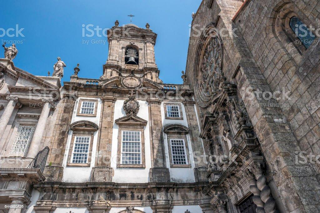 The Church of Saint Francisco , Portugal , Porto, stock photo