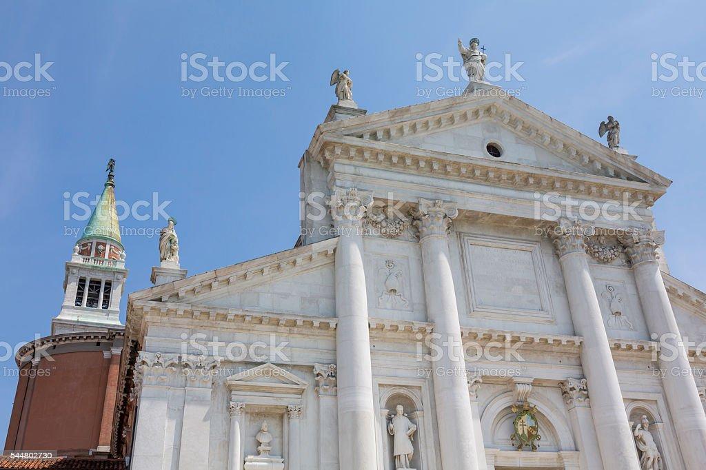 The Church of San Giorgio Maggiore at day stock photo