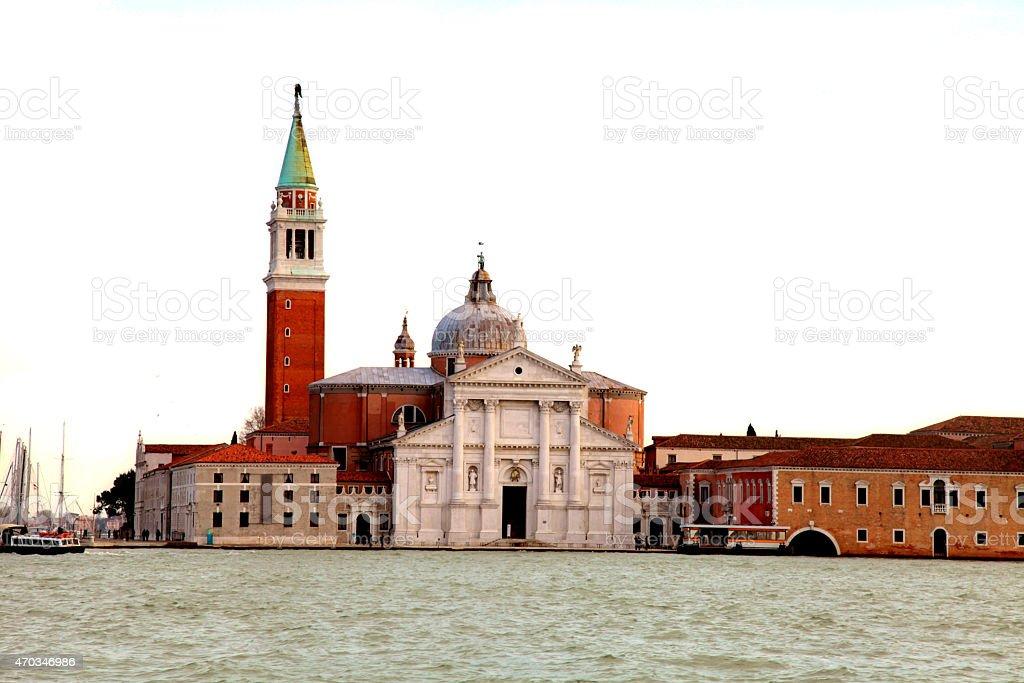 The church of San Giorgio Maggiore, Venice stock photo