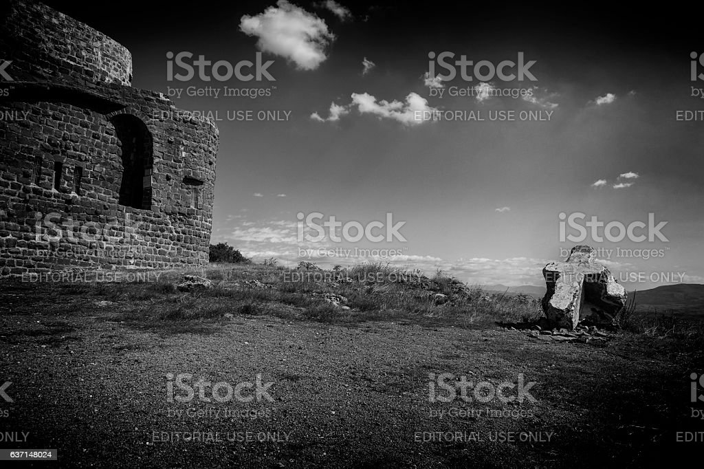 The Church of St. George (Crkva Svetog Djordja) stock photo