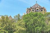 The Church of St. John Seen from Morningside Park, Harlem