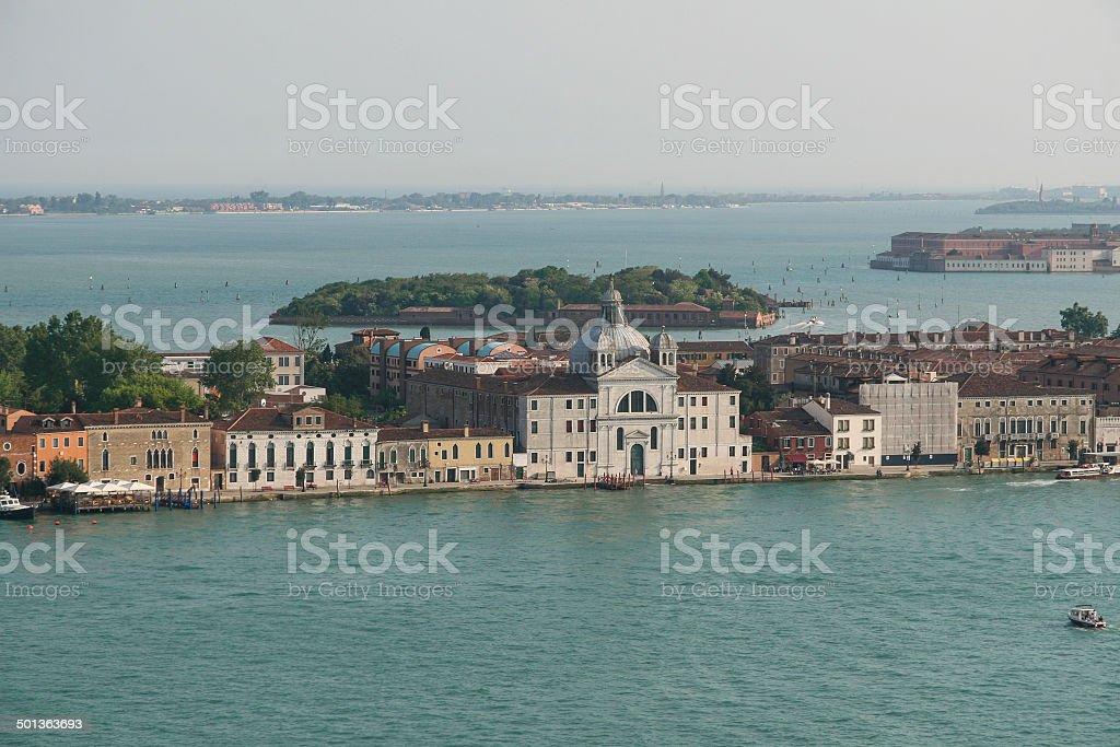 The church of St. Mary of the Presentation, Venice stock photo