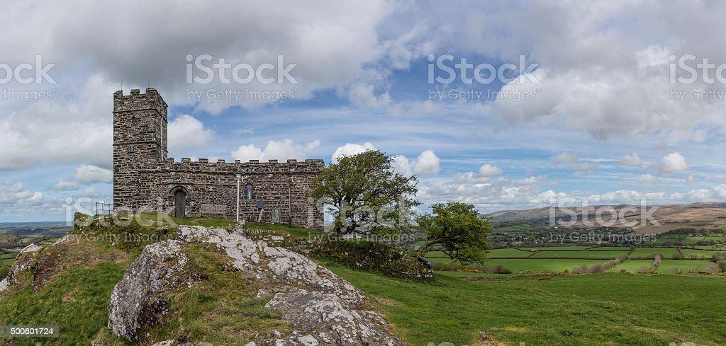 The Church of St Micheal de Rupe stock photo