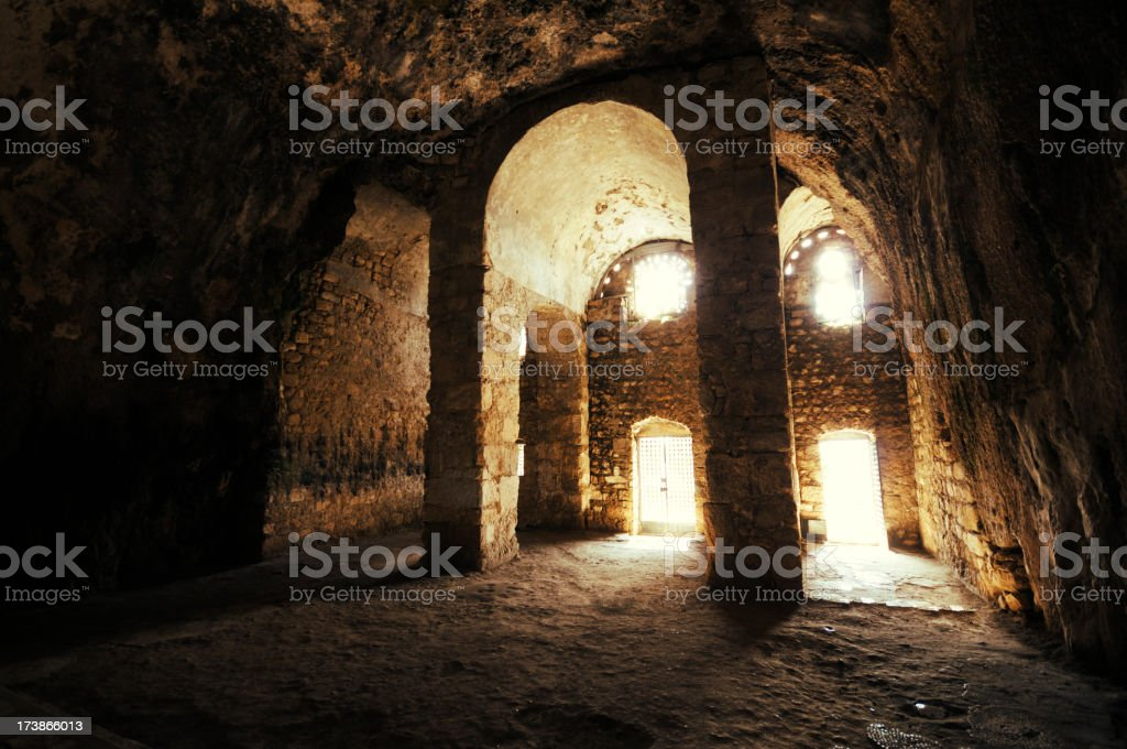 The Church of St. Peter, Antakya, Turkey stock photo