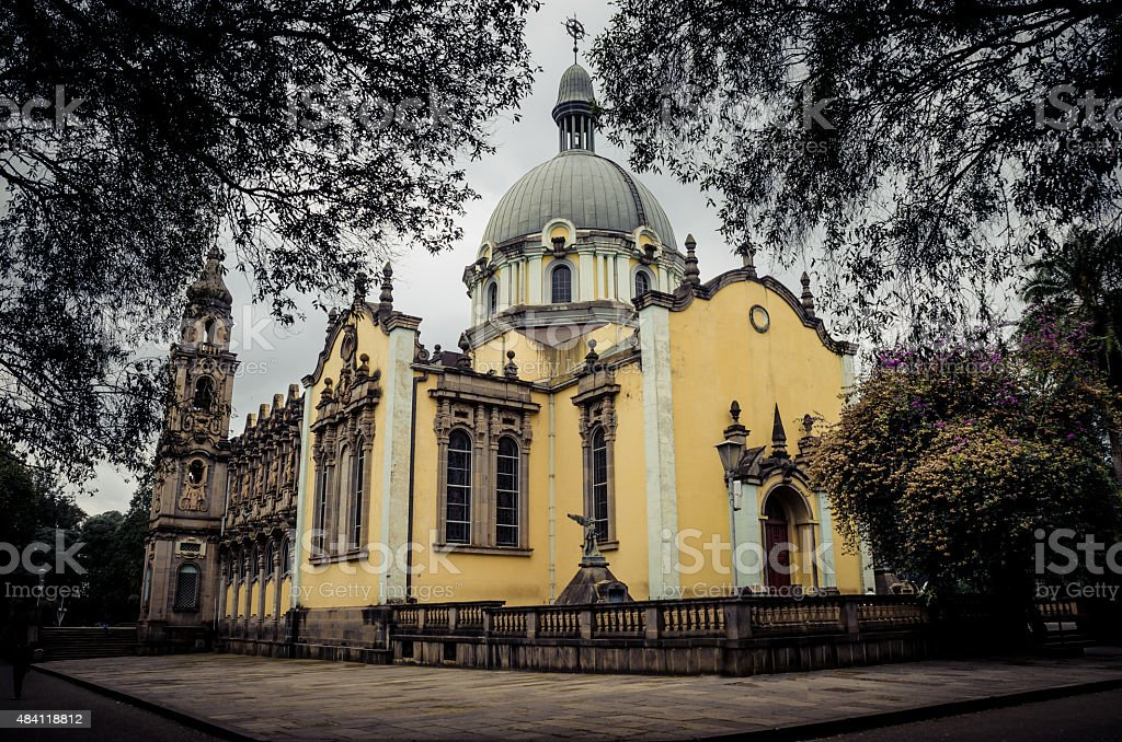 The church of the Holy Trinity, Addis Ababa stock photo