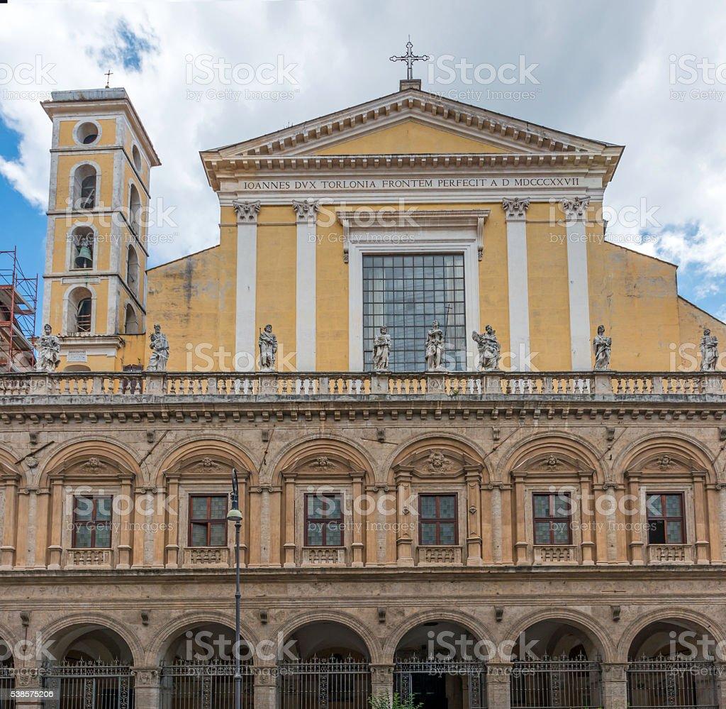 The Church of the Twelve Holy Apostles stock photo