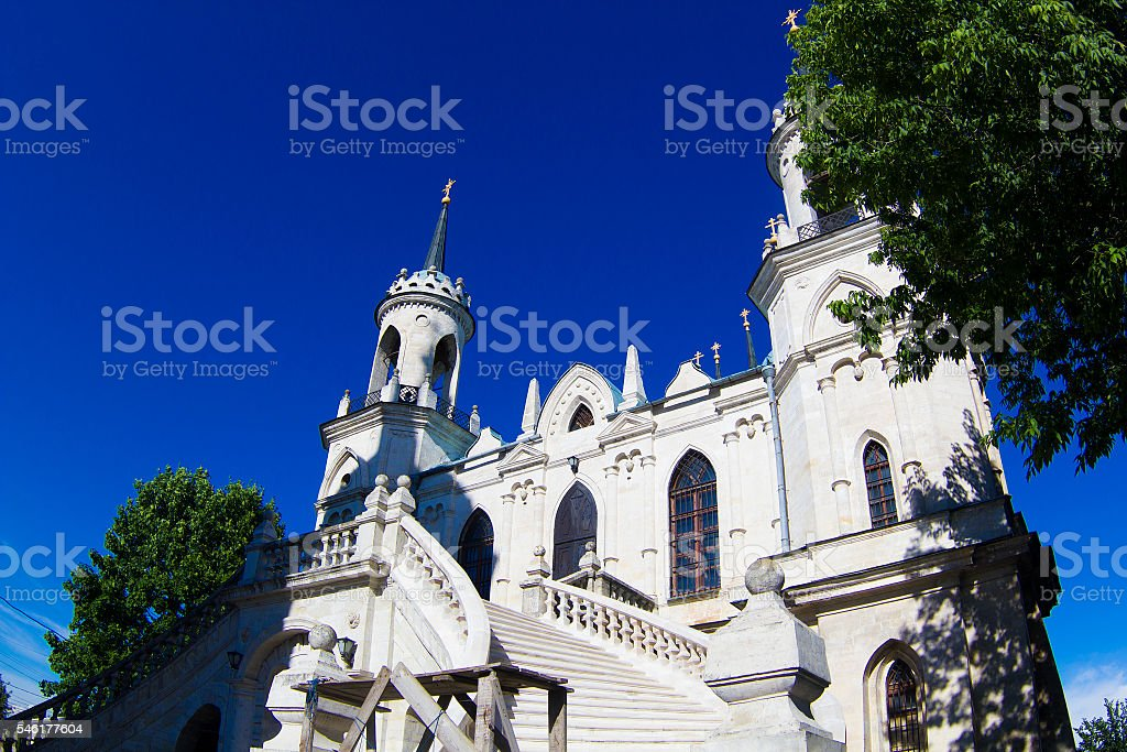 The Church of the Vladimir icon stock photo