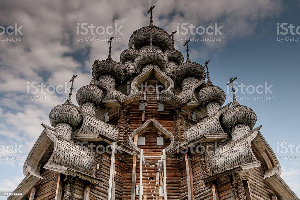 The Church of Transfiguration - Kizhi Island stock photo