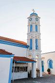 The Churche of Agios Nikolaos in Porto Lagos, Greece