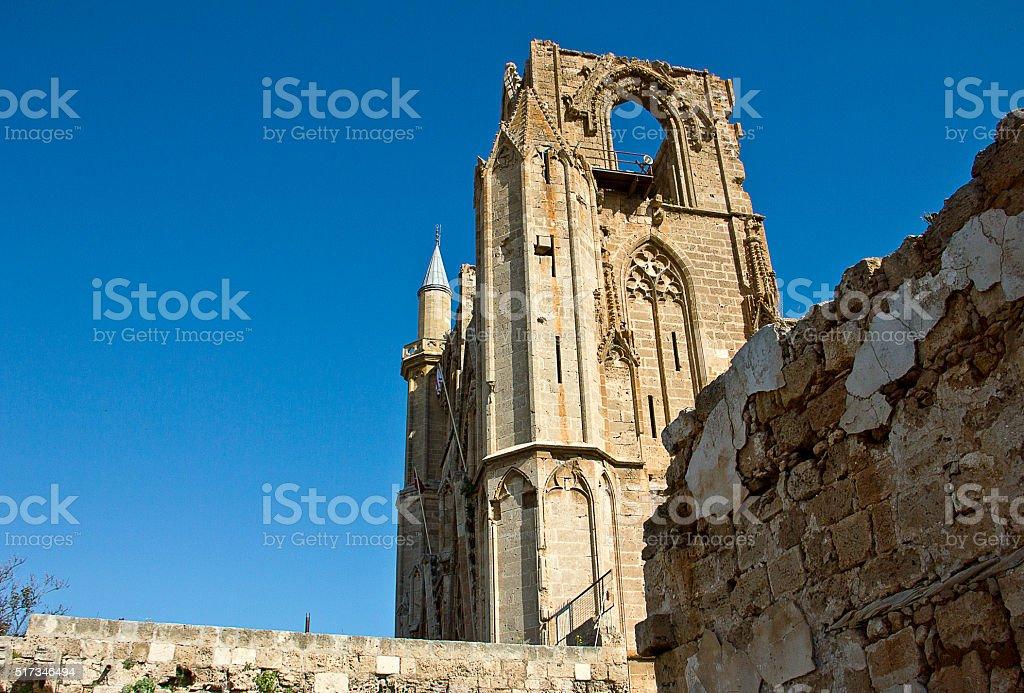 The church/mosque stock photo