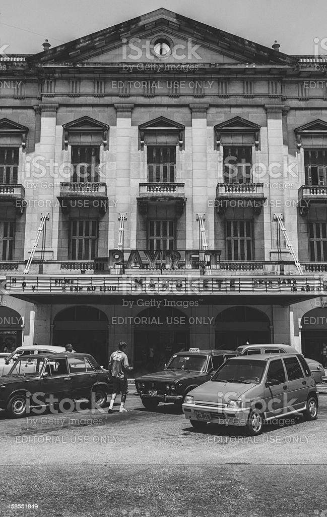 The Cine Payret stock photo