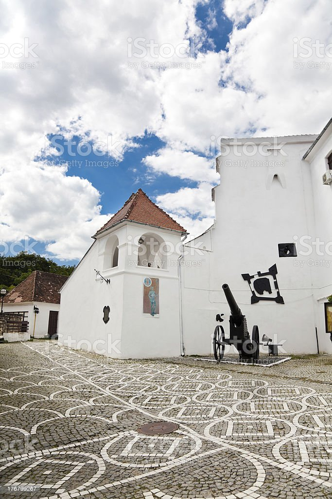 The Citadel in Brasov royalty-free stock photo