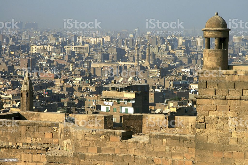 The Citadel in Cairo, Egypt royalty-free stock photo