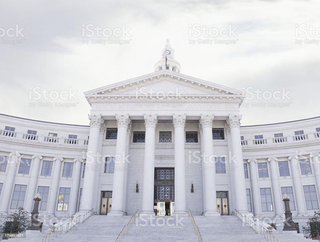 The City and County Building - Denver, Colorado stock photo