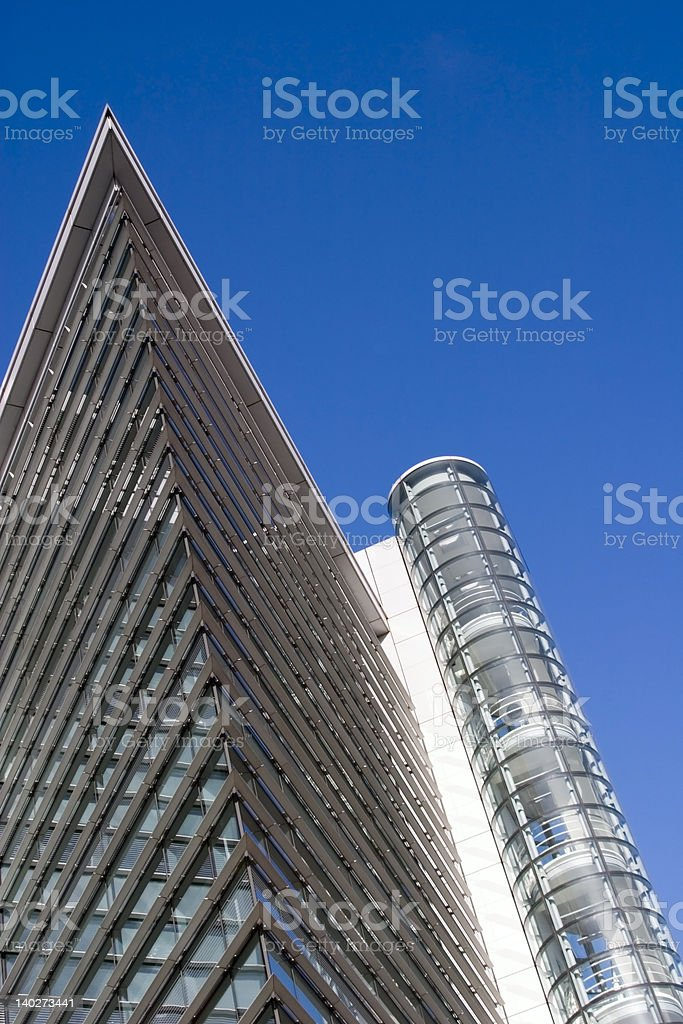 The City Centre, Leeds, West Yorkshire royalty-free stock photo