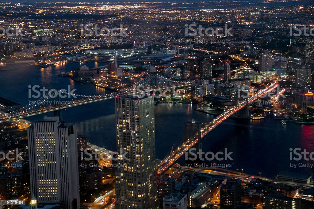 The City From Above stock photo