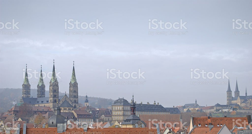 The city of Bamberg in Germany stock photo