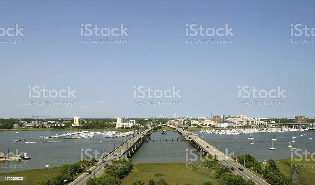 The City of Charleston, South Carolina royalty-free stock photo