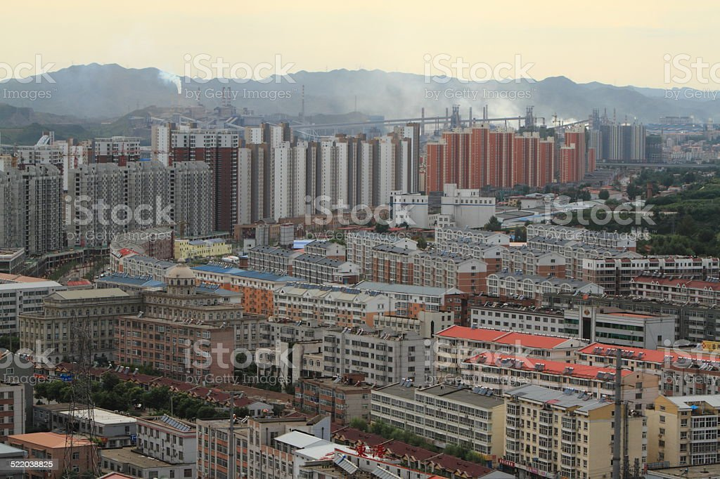 Die Stadt Chengde in China stock photo