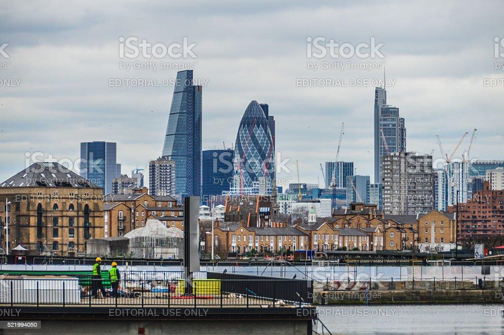 The City of London stock photo