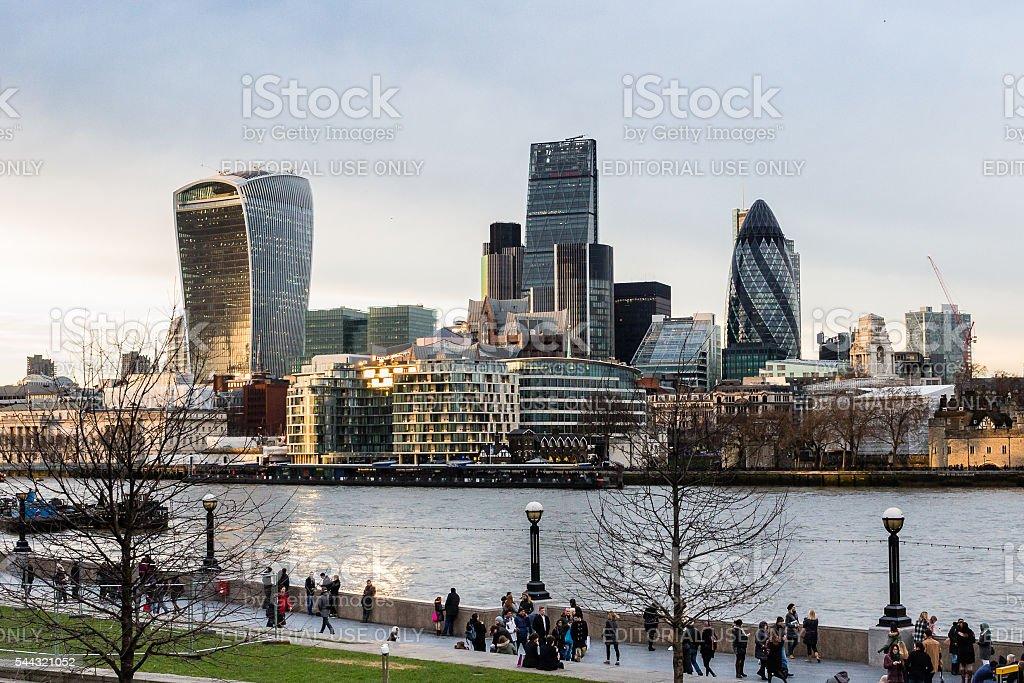 The City of London, United Kingdom stock photo