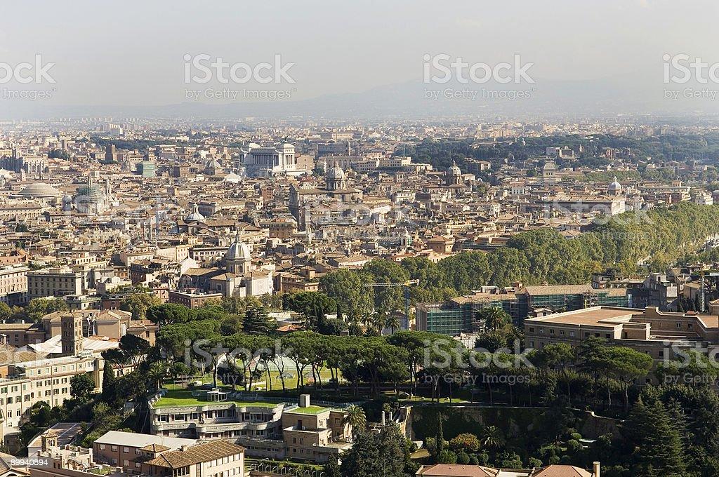The City of Rome stock photo