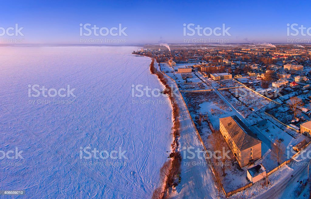 The city of Rostov the Great in the Yaroslavl region. Russia stock photo