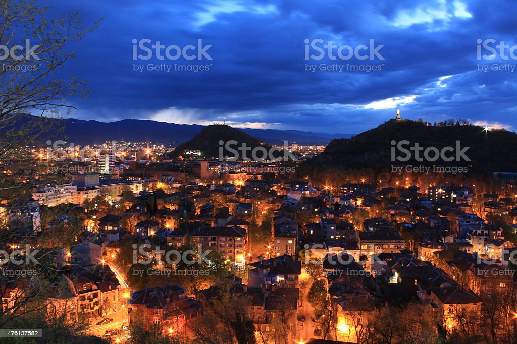 The city of seven hills - Plovdiv royalty-free stock photo
