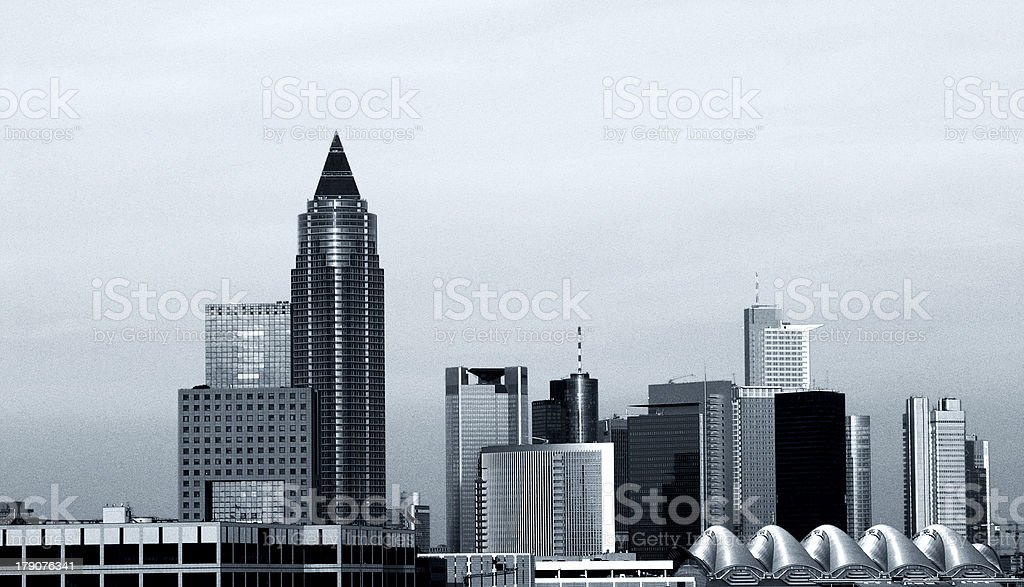 The City of Steel royalty-free stock photo