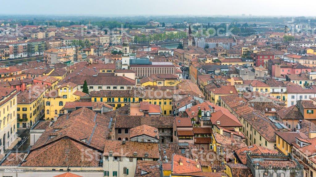 The City of Verona stock photo