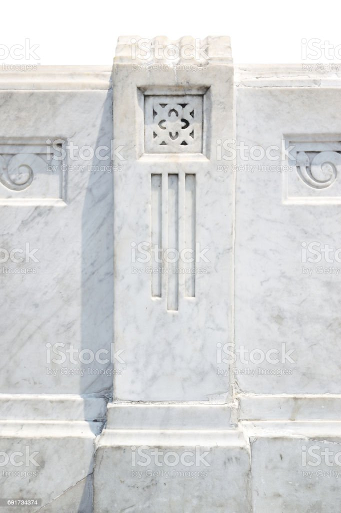 The classic marble on brige stock photo