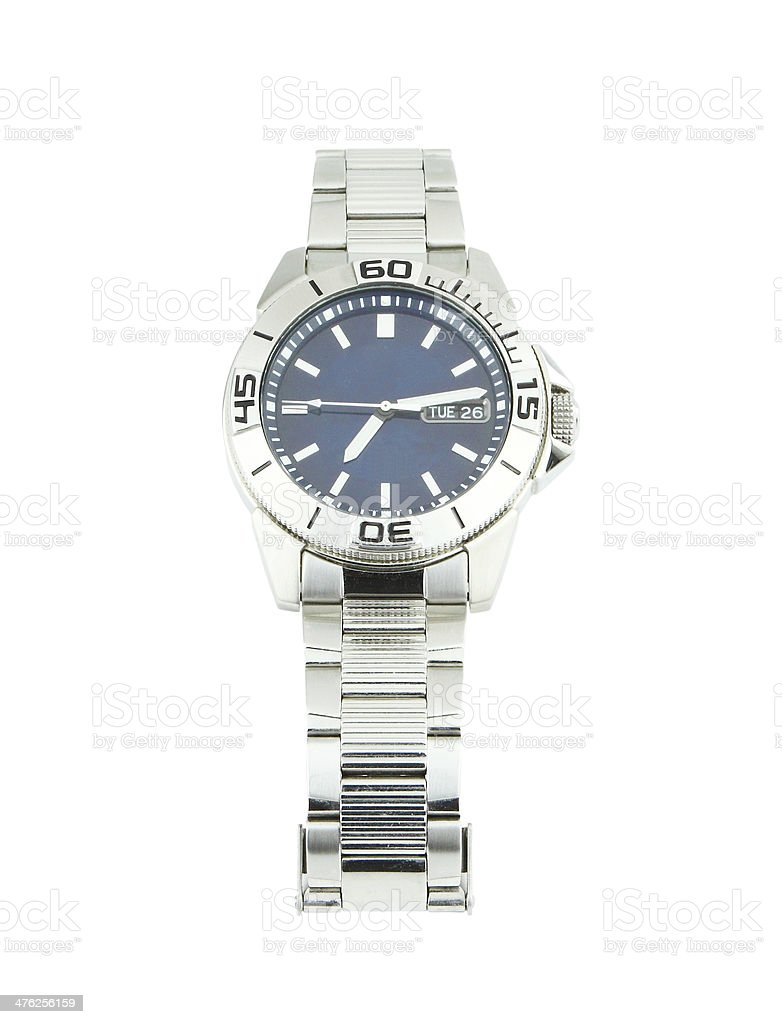 the classic wrist watches on white royalty-free stock photo