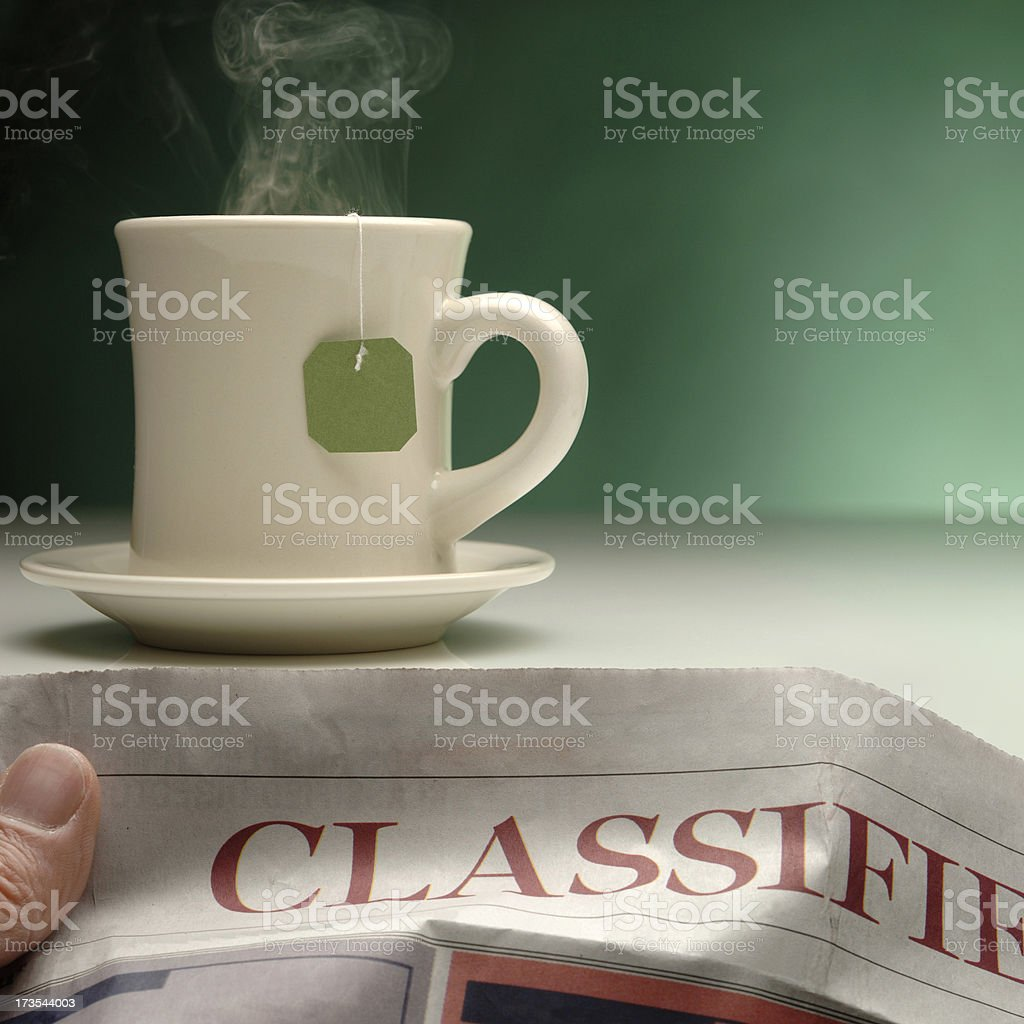 The Classifieds royalty-free stock photo