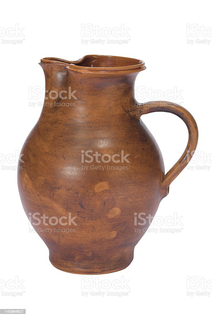 the clay jug II royalty-free stock photo