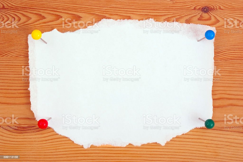 the clean sheet of paper royalty-free stock photo