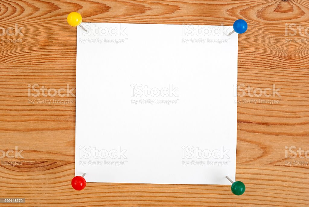 The clean square blank royalty-free stock photo